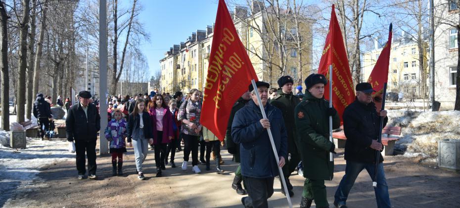 Митинг памяти в мкр. Черная Речка